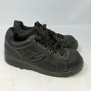Skechers Leather Oxfords shoes womens sz 8.5